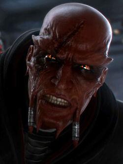Darth Kaled angry