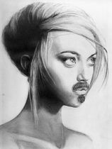 Mustache goatee by nothought