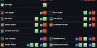 Tank build list