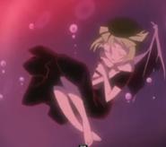Pretty cure heartcatch dark cure bambina