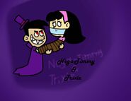 Nega Timmy and Trixie by Cookie Lovey