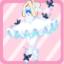 SFG Papillon Ballerine bleu clair
