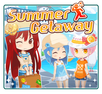 Summer Getaway big banner