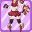 Cat Bell Girl Suit