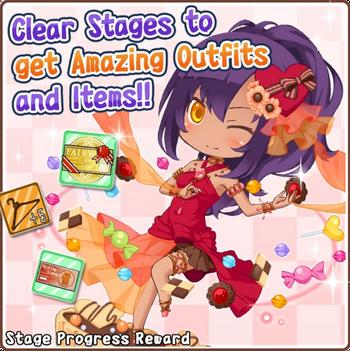 CK stage rewards