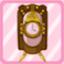 SSG Nostalgia Clock pink