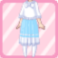LE Chiffon Maxi Dress Knit Poncho aqua