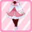 LE Bisque Doll Dress roweiss