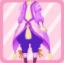 FFG New Greenery Fairy Pants purple
