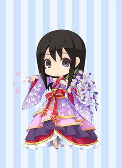 GLCG Wisteria Arrangement Kimono preview