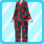 SFG Strawberry Pajamas black