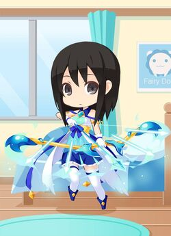 GB Magical Blue Bow Girl preview