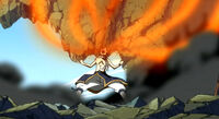 Episode 27 - Natsu eats fire