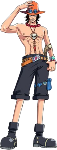 File:Trace D. Portgaz Anime Game Full Body.png