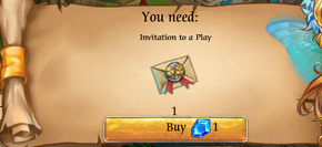 Fairy Kingdom --Mother's Day 10 of 10 task (invitation to a play not in inventory)
