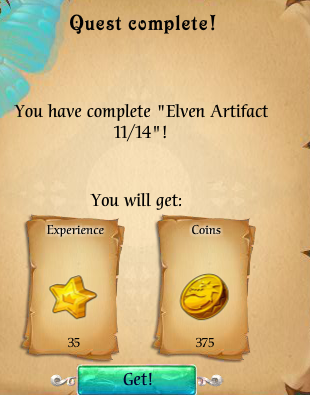Fairy Kingdom --Elven Magic 11 of 14 reward