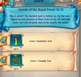 Fairy Kingdom -- Secrets of the Royal Forest 15 of 15 (task)
