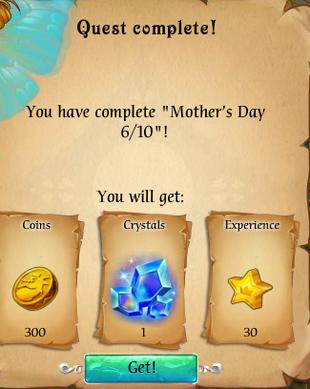 Fairy Kingdom --Mother's Day 6 of 10 reward