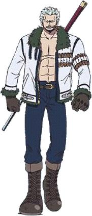 Chaser Smoker Anime Full Body