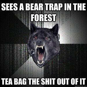 Wolf Bear Trap
