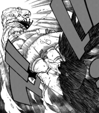 Gajeel brutalized by Torafuzar