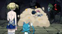 Natsu and Gray arguing