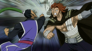 Gildarts & bluenote hitting each other