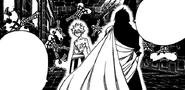Natsu stands before Zeref