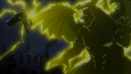 Laxus attacks Zirconis