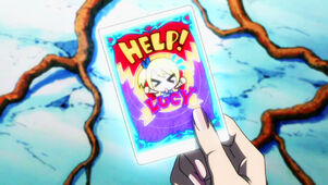 Help Lucy card