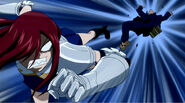 Erza joins the fight