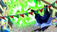Bickslow attacks Nab and Laki
