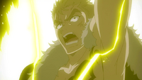 Laxus continues the fight