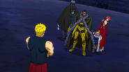 Laxus vs. Team Raven Tail