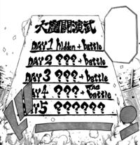 GMG Schedule