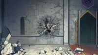 Erza pushed to wall
