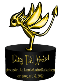 Fairy Tail Award 2