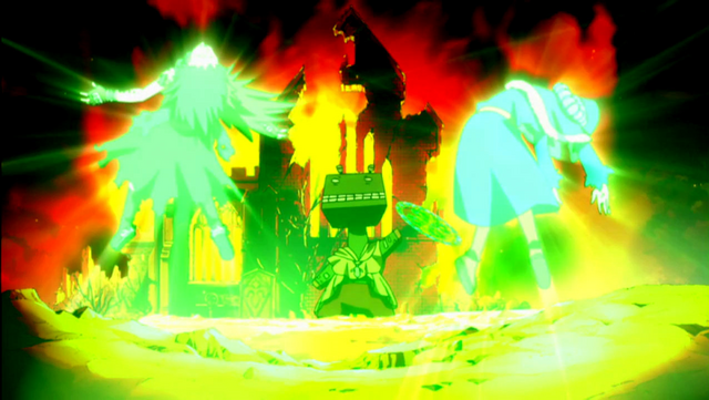 File:Guttman using Rapture magic on Gajeel and Juvia.png