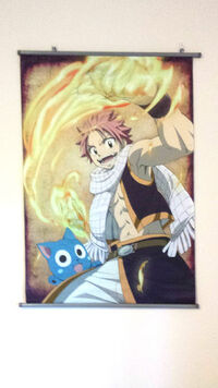 Fairy Tail Wall Scroll