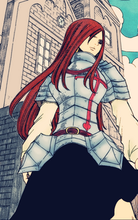 Erza Coloring