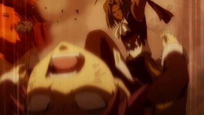 Tempester battles Natsu