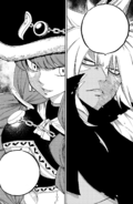 Irene faces Acnologia