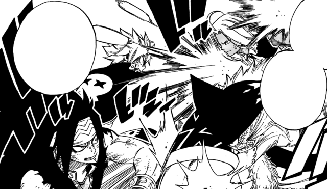 File:Natsu and Gajeel clash with Tempester and Torafuzar.png