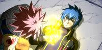 Jellal giving Natsu the Flame of Rebuke.jpg