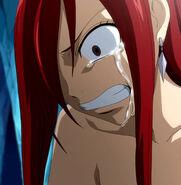 Erza's sorrow