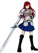 Erza Scarlet's Heart Kreuz Armor