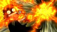 Little Natsus mass fire attack