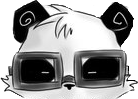 File:Cool Panda with glasses on.png