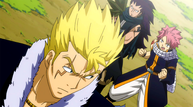 File:Natsu and Gajeel want to fight with Laxus.png