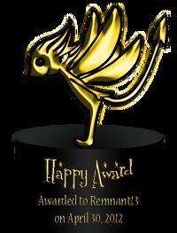 Happy Award 1